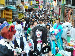Harajuku y la calle Takeshita en Tokio