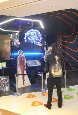 hexaRide en Odaiba: realidad virtual