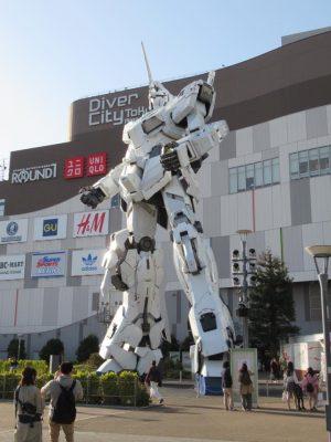 Odaiba: Una isla artificial futurista