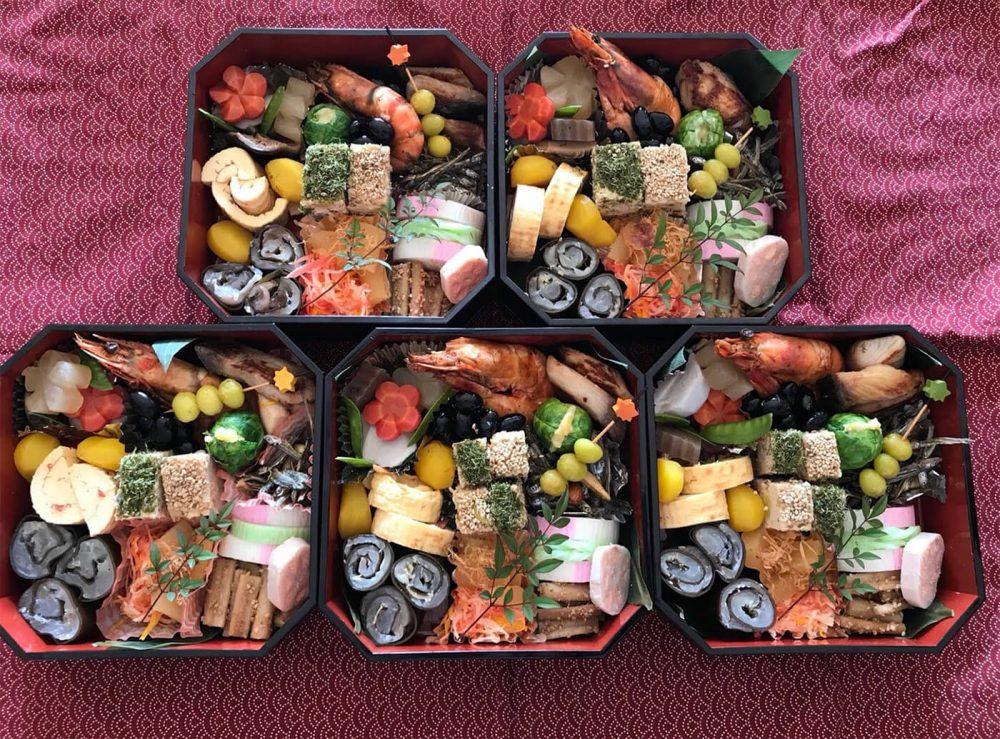 osechi ryori en ano nuevo