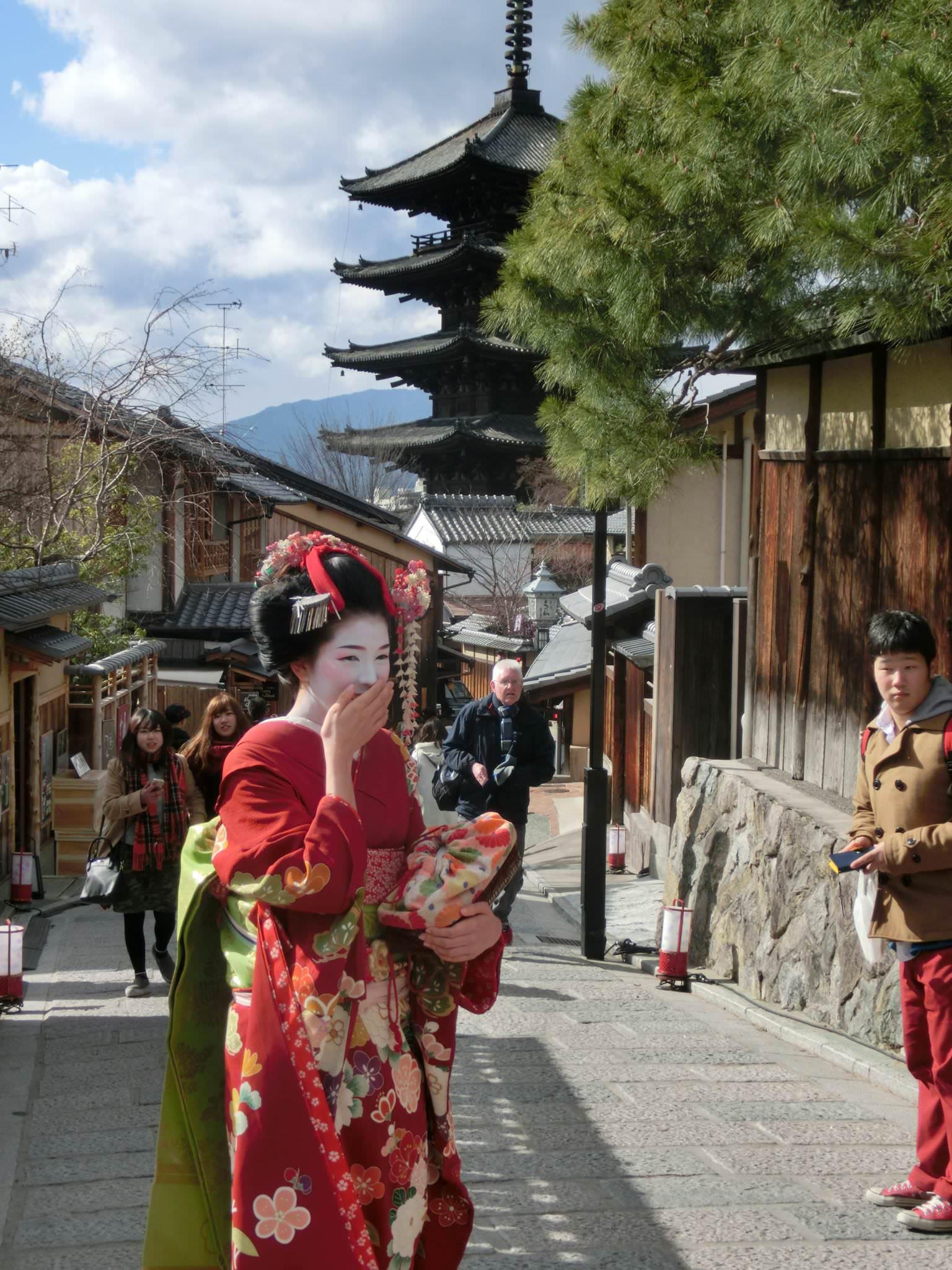 kioto con maiko