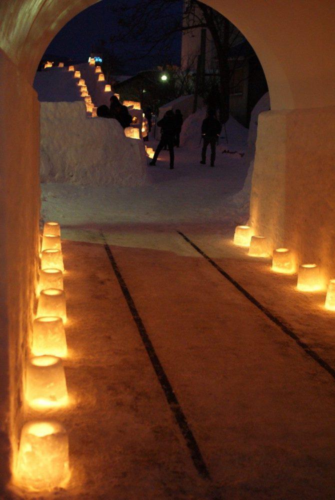festival del nieve en Otaru