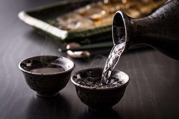 sake con clientes