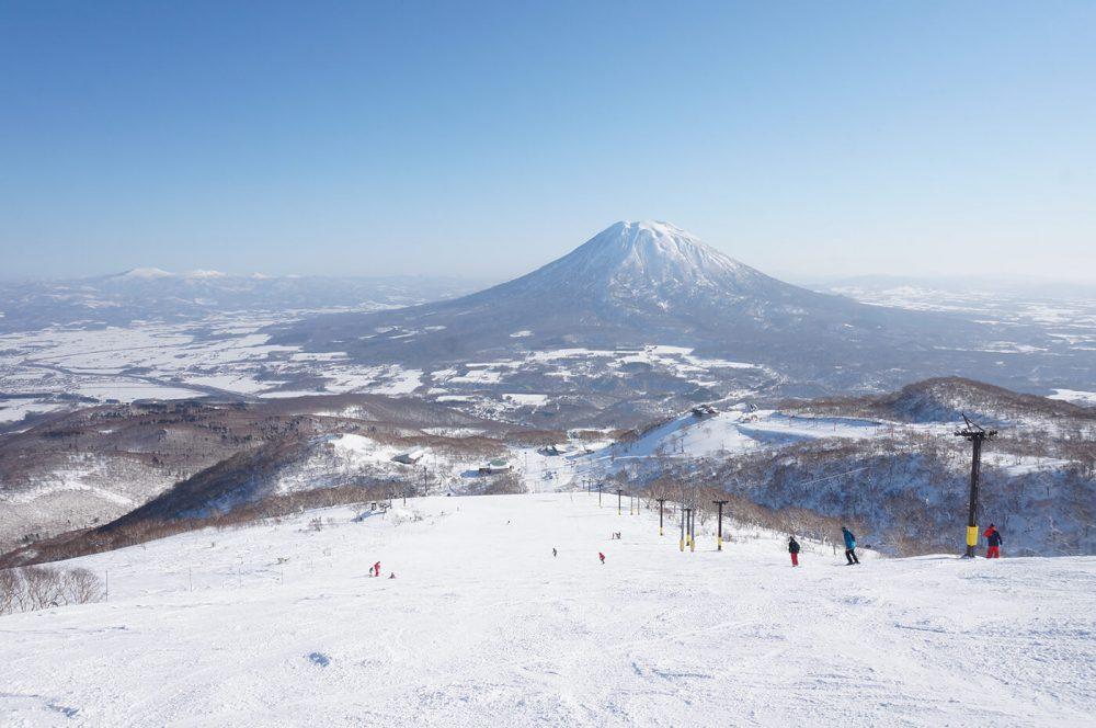 esquiar en japon