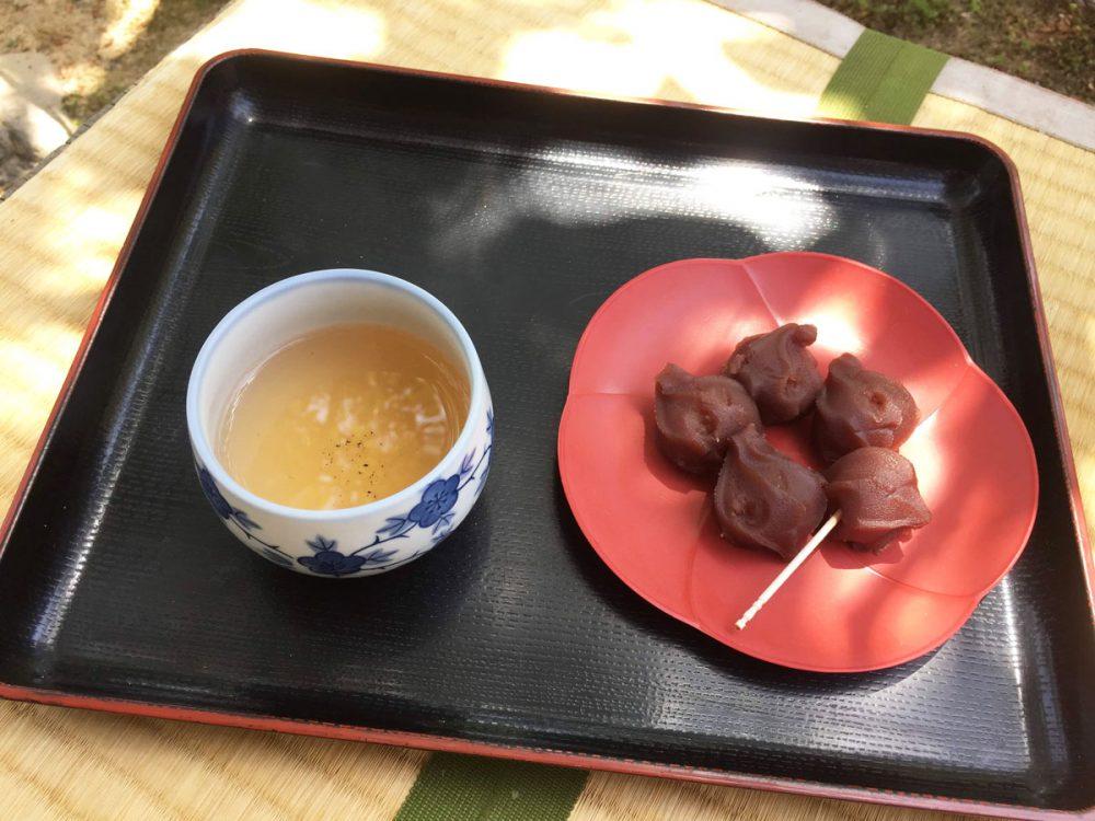 dulce japones con te verde