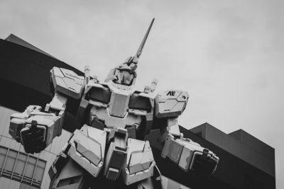 Estatua de Unicorn Gundam en Odaiba