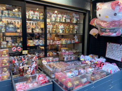 La calle comercial Nakamise en Asakusa