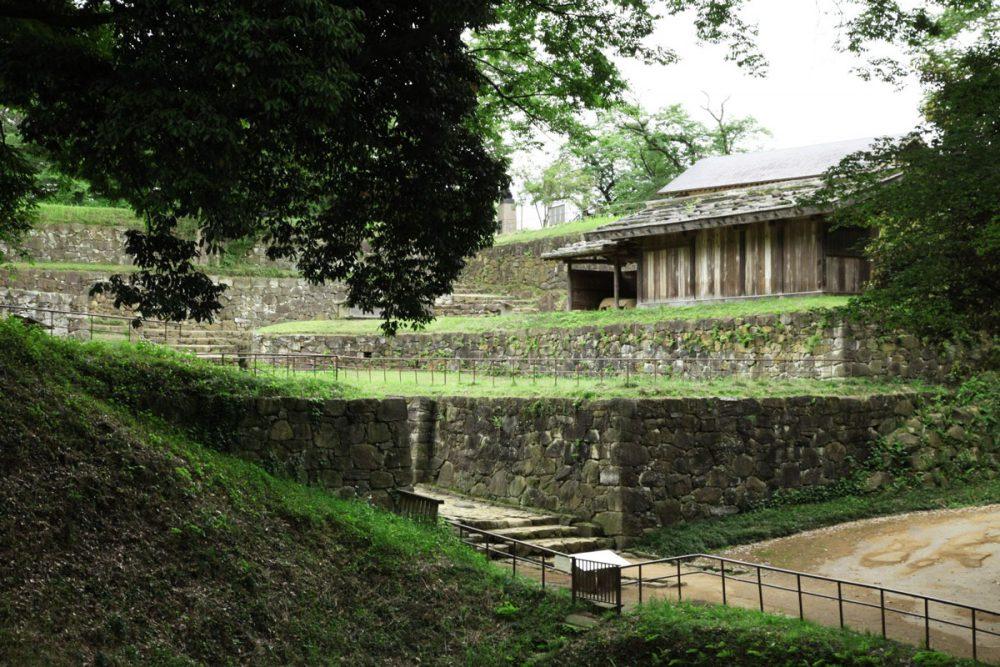 ruina de castillo Kanayama