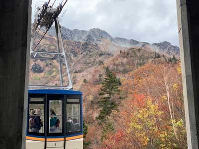La ruta alpina Tateyama Kurobe